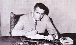 1967-72 pascasio ARENAS LOPEZ ALCALDE DE VILLLENA AÑO 1967 - 1972