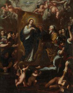 Dios_Padre_pintando_a_la_Virgen Garcia hidalgoth