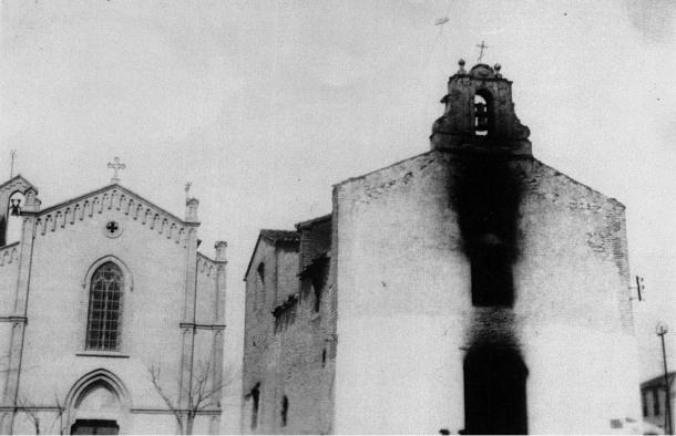 Ermita de San Sebastián 1931 vista frontal