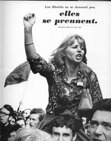la libertad no se da se toma mayo 68