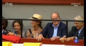 el Rey Juan Carlos en Illumbe
