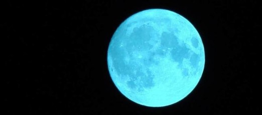 luna azul del 31 de julio