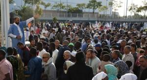musulmanes celebran la fiesta del coreder