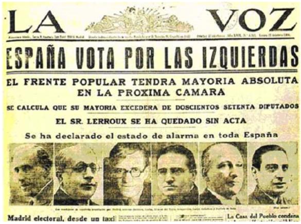 eleeciones 1936