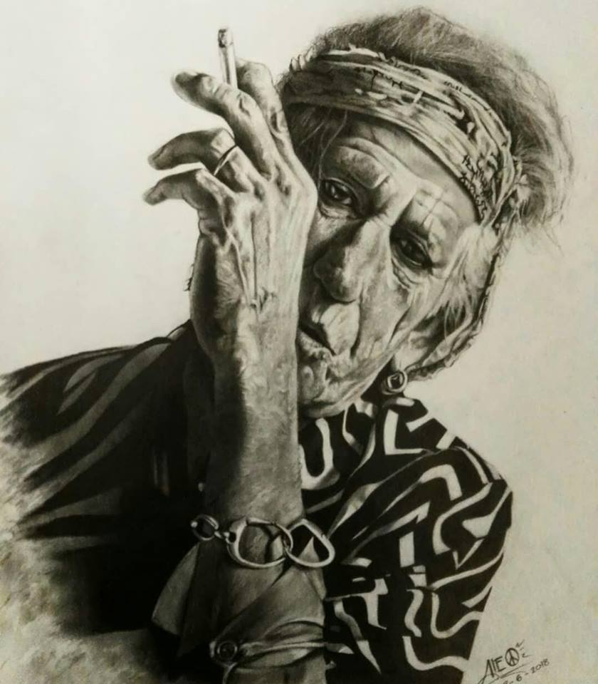 keith Richards por alex