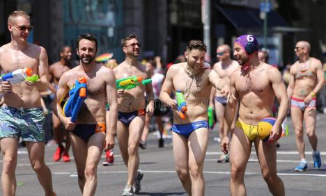 gay-pride-new-york-city-usa-–-june-th-protesters-marching-rights-parade-mahattan-42307827